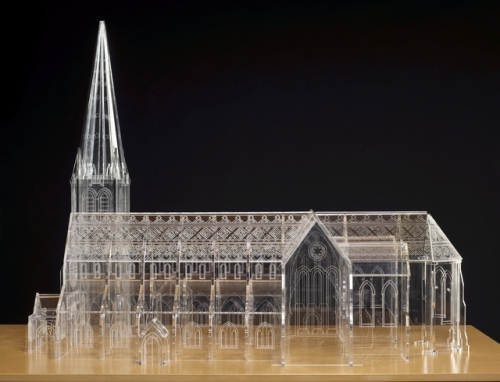 Canterbury Cathedral model_1